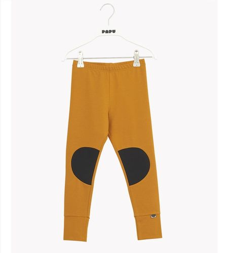 Papu Patch Earth Brown lasten leggingsit
