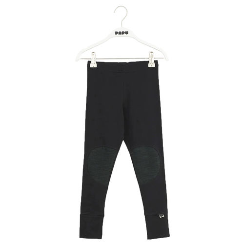 Papu Patch School Green lasten leggingsit